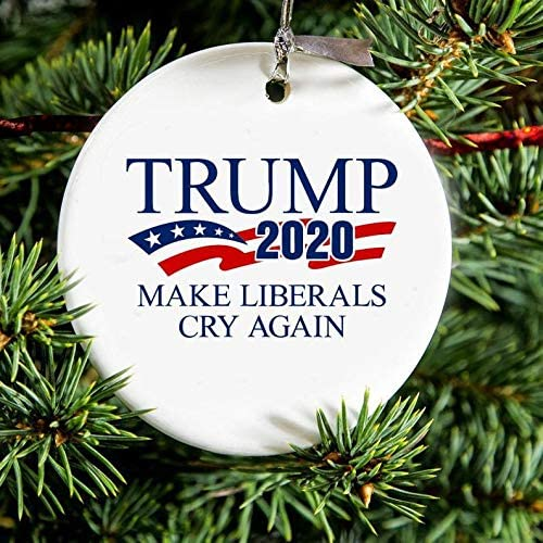 Amazon.com: Trump 2020 Donald Trump Christmas Ornament Funny Pro