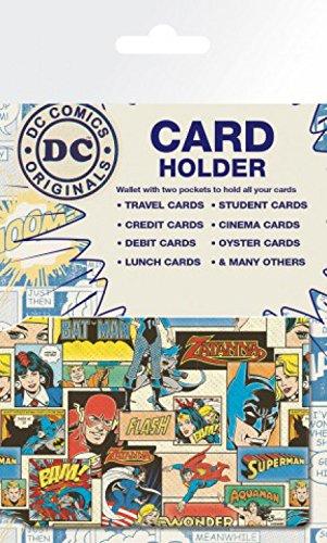 1art1 DC Comics - Retro Tarjeteros para Tarjetas De Crédito (10 x 7cm)