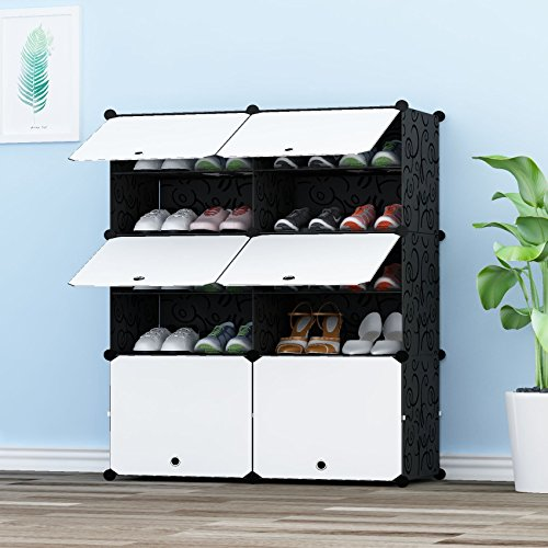 hidden shoe rack - 9