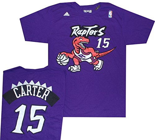 adidas Toronto Raptors Vince Carter Throwback Vintage Shirt – Sports Center Store