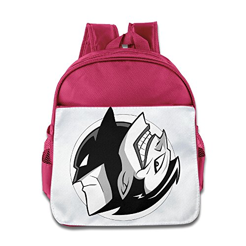 One Year Later Robin Costume (XJBD Custom Superb Joker Mix Mask Man Children School Backpack For 1-6 Years Old Pink)