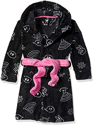 Petit Lem Girls Little Hooded Robe, Comfortable, Cute and Cozy Softness