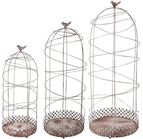 Esschert Design Aged Metal Plant Support, Set of 3 by Esschert Design