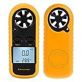 FidgetKute GM816 Digital Wind-Speed Backlight Airflow Gauge Meter Anemometer Thermometer