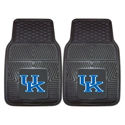 FANMATS NCAA University of Kentucky Wildcats Vinyl Heavy Duty Car Mat
