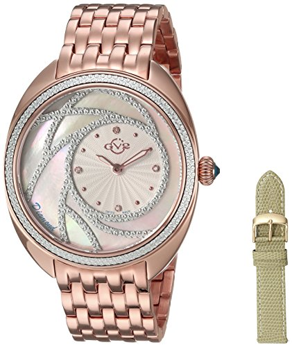 GV2-by-Gevril-Womens-Ancona-Swiss-Quartz-and-Stainless-Steel-Casual-Watch-ColorRose-Gold-Toned-Model-3701