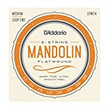 D'Addario EFW74 Phosphor Bronze Medium Mandolin Strings (11-36)