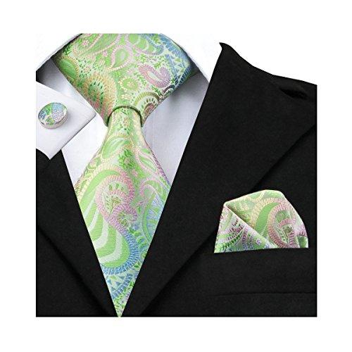 Silk Paisley Tie - 1