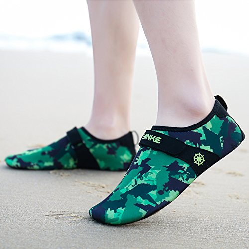 Exercise Aqua Z Kids Men Dry Water Quick Beach and SUO Surf Camouflage Shoes Green Swim Yoga Women For Socks araxzAq