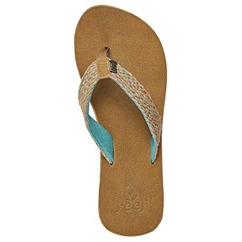 Reef - Sandalias de vestir para mujer Marrón marrón 39.5 Turquesa - verde azulado