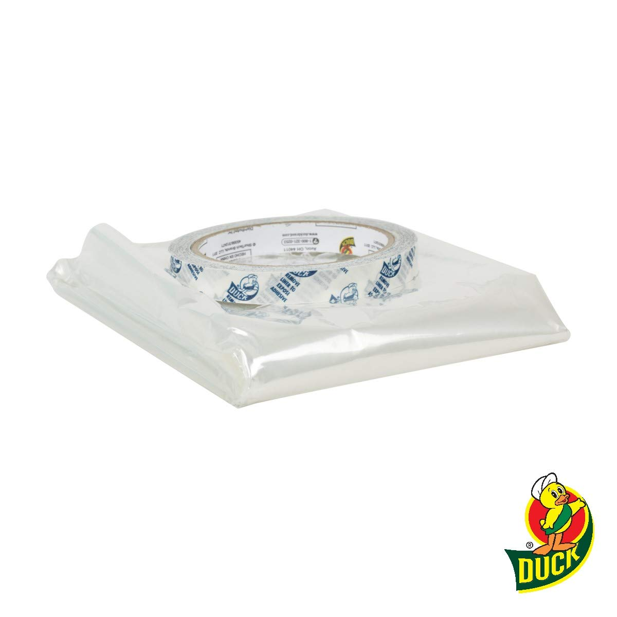 Duck Brand Indoor Shrink Film Window Kit, 62 x 420 Inches, 10 Pack, Clear, E-Commerce Packaging (285233) Shurtech