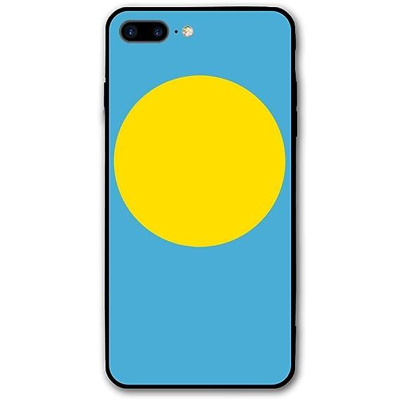 Amazon com: IPhone 7 Plus Case Flag Of Palau PC Material
