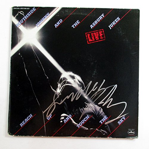 Southside Johnny Signed Album With Asbury Jukes Reach Up And Touch The Sky Auto