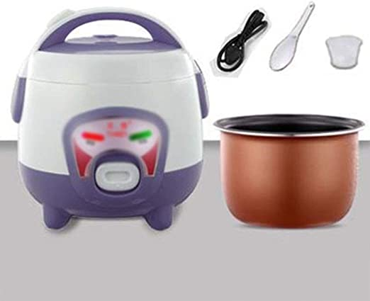 3PC MICROWAVE RICE COOKER WITH SPOON AND MEASURING CUP VENTED COVER STEAMER