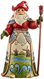 Jim Shore Heartwood Creek Dutch Santa Stone Resin Figurine, 7""