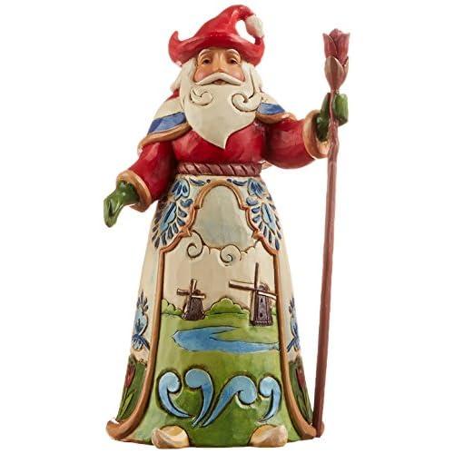Jim Shore for Enesco Heartwood Creek Dutch Santa Figurine, 7-Inch