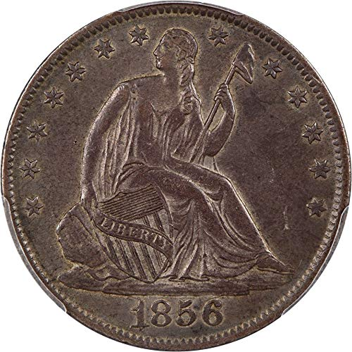1856 O Liberty Seated Half Dollars Half Dollar AU50 PCGS ()