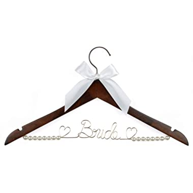 Wedding Dress Hanger Bride Hanger Wire Hanger Bridal Gift
