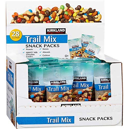 Kirkland Signature Expect More Trail Mix Snack Packs 2 oz, 56 count by EVAXO (Image #2)