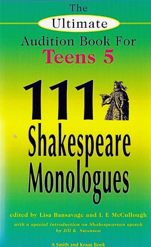 Shakespeare monologues for teens