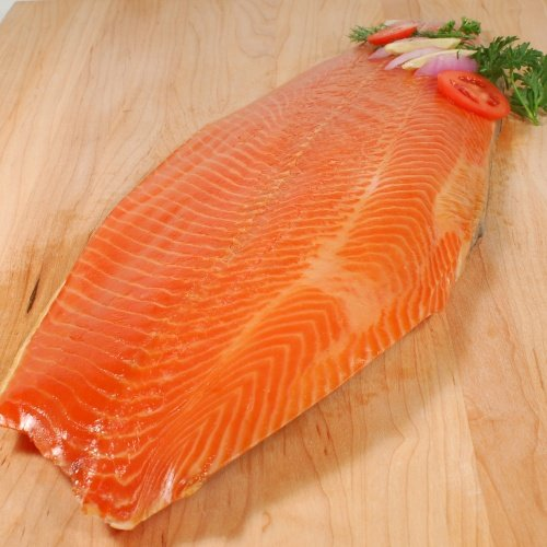 Norwegian Smoked Salmon Trout - Whole Side - 1 x 3.25 lb (1.48 kg)