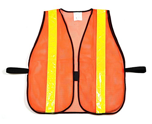 (Box Deal) RK 8011 Safety Vest with Reflective Stripes (50- Pack, Neon Orange) by RK Safety (Image #3)