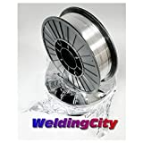 WeldingCity E71T-11 Flux Core Gasless Mild Steel MIG Welding Wire 0.030″ (0.8mm) 2-lb Spool