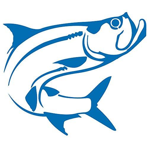 (Tarpon Fish Vinyl Decal)