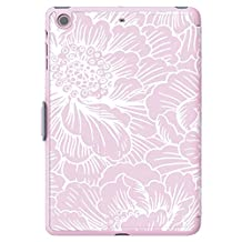 Speck Products StyleFolio Case for iPad Mini/2/3 - Freshfloral Pink/Nickel Grey