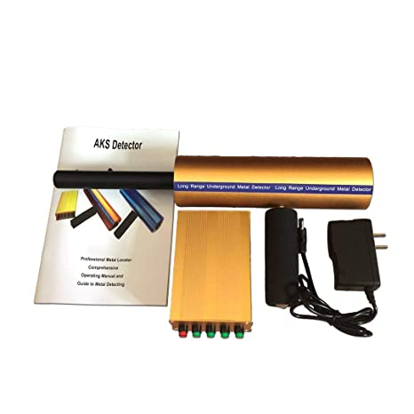 AKS 3D Detector de Metales de Largo Alcance Aks de Oro y Diamante, Detector de
