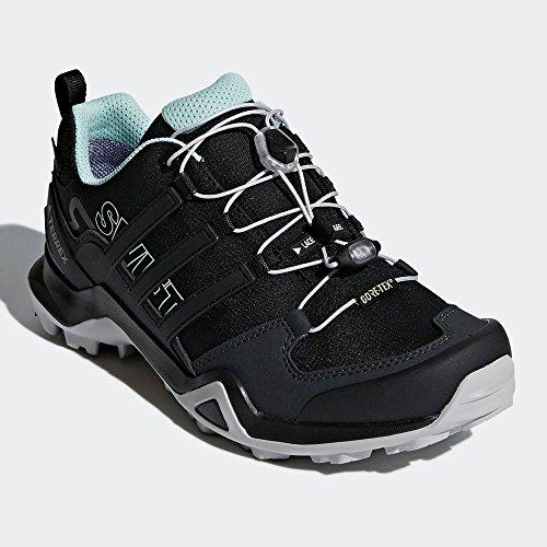 adidas Terrex Swift R2 GTX W, Zapatillas de Senderismo Para Mujer Negro (Negbas / Negbas / Vercen 000)