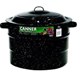Granite Ware 21.5-Quart Porcelain Canner With Rack