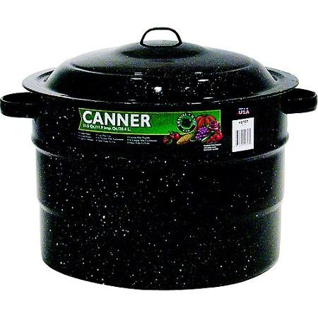 Granite Ware 21.5-Quart Porcelain Canner With Rack by Supernon