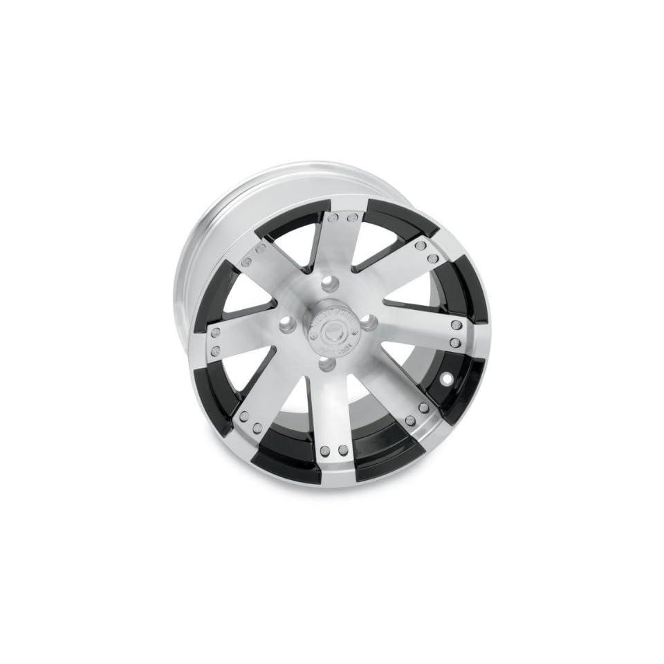 Vision Wheel Type 158 Buck Shot Rear Wheel   14x8   4+4 Offset   4/115   Machined , Wheel Rim Size 14x8, Rim Offset 4+4, Bolt Pattern 4/115, Color Machined, Position Rear 158148115BW4