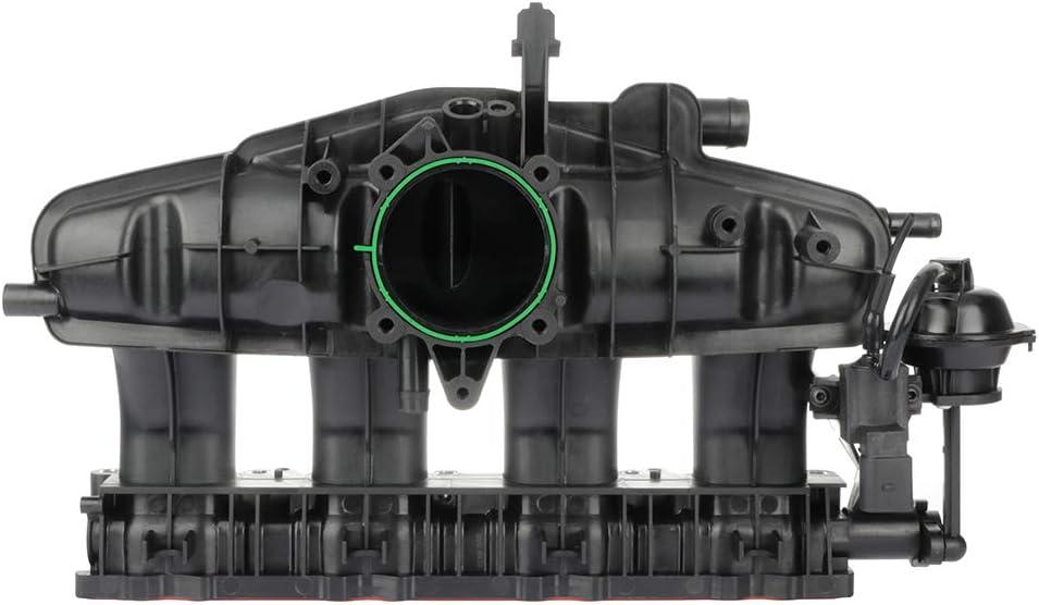 ANPART 06J133185BM Engine Intake Manifolds Fit For 09-13 Audi A3 09-13 Audi A3 Quattro 09-10 Audi TT Quattro 12-13 Volkswagen Beetle 09-15 Volkswagen CC 10-15 Volkswagen Eos 09-14 Volkswagen GTI