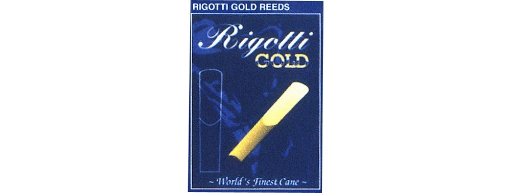 Rigotti Gold Tenor Saxophone Reeds Strength 3 Light TS3L
