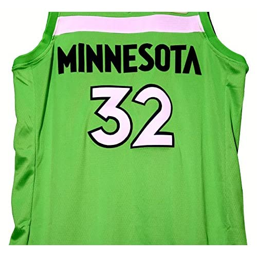 a7f09f45ef7 ... low cost karl anthony towns minnesota timberwolves signed autographed green  32 jersey jsa coa 95635 e5a21