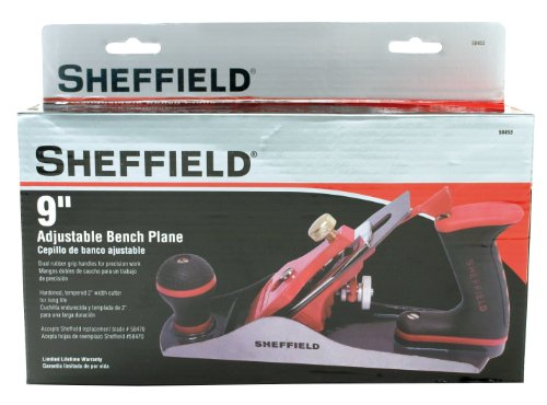 Sheffield 58453 9 Inch Adjustable Bench Plane by Sheffield