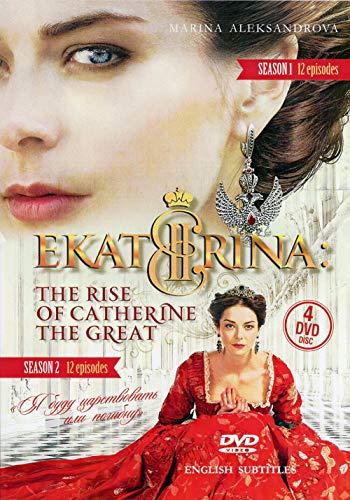 4DVD NTSC CATHERINE / EKATERINA RUSSIAN HISTORY TV SERIES PART 1, PART 2 Language:Russian.Subtitles:English ()