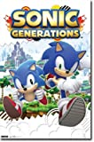"Sonic Generations - Gaming / TV Show Poster (Size: 24"" x 36"")"