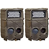 (2) CUDDEBACK C2 Long Range Xchange IR Infrared Trail Game Hunting Cameras| 20MP