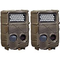(2) CUDDEBACK C2 Long Range Xchange IR Infrared Trail Game Hunting Cameras| 20MP