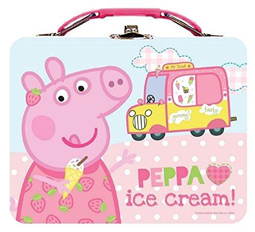 Peppa Pig Square Tin Box -