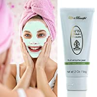 Fruit Enzyme Peel Face Exfoliating Mask · MiCo Michelle's Cosmetics Skin Care by Florencia · Best Face Exfoliator, Toning Clarifying Face Mask for Acneic Scars, Discoloration, Wrinkles - 2 oz brought to you by Florencia®