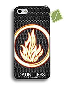 PHONECASEHOO Cell Phone Rugged Cases For Iphone 6 Plus/5.5 Hard Case With Divergent Movie Awesome Style by runtopwell