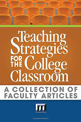 Download Teaching Strategies for the College Classroom: A Collection of Faculty Articles pdf