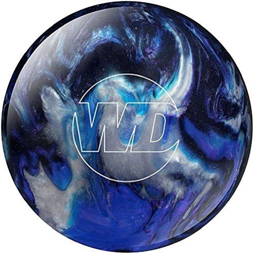 Columbia 300 White Dot Bowling Ball, Blue/Black/Silver, 13