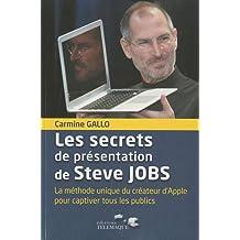 SECRETS DE PRÉSENTATION DE STEVE JOBS (LES)