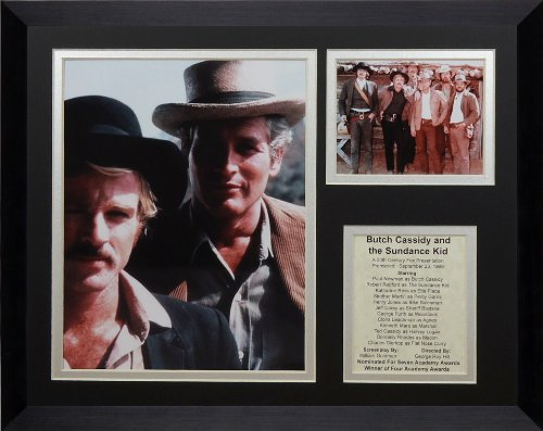 Legends Never Die Butch Cassidy and The Sundance Kid Collage Photo Frame, 11