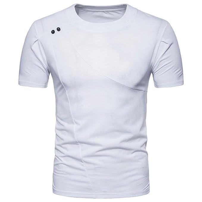 2a7a29e03 FAMILIZO Camisetas Manga Corta Hombre Moda Camisetas Hombre Algodón ...